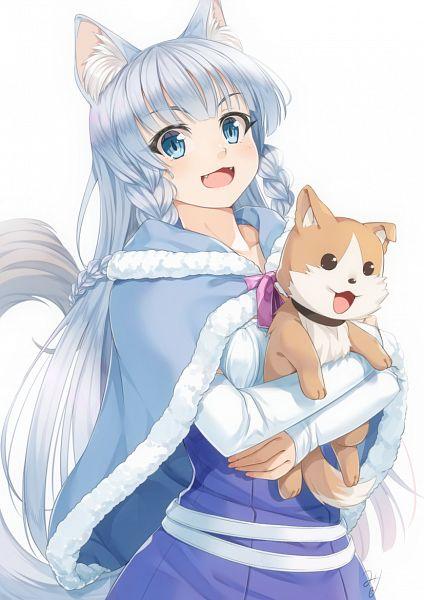 Tags: Anime, Miri (Ago550421), Hataage! Kemono Michi, Hiroyuki (Hataage! Kemono Michi), Shigure (Hataage! Kemono Michi)