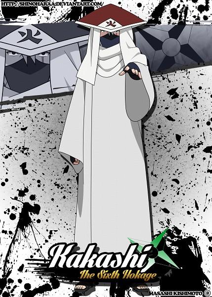 Tags: Anime, Shinoharaa, Naruto The Movie: The Last, NARUTO, Hatake Kakashi, Hokage Outfit, Fanart, Fanart From DeviantART, deviantART