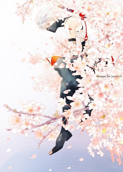 Tags: Anime, Pixiv Id 34125, NARUTO, Hatake Kakashi, Anbu, Pixiv, Mobile Wallpaper, Fanart From Pixiv, Fanart