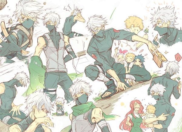Tags: Anime, Chitose Yuki, NARUTO, Uzumaki Naruto, Uzumaki Kushina, Haruno Sakura, Hatake Kakashi, Uchiha Sasuke, Anbu, Pixiv, Fanart, Fanart From Pixiv