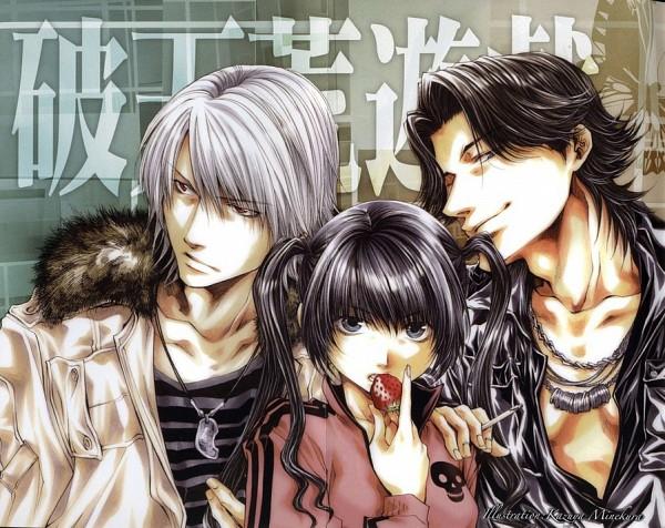Tags: Anime, Hatenkou Yuugi, Baroqueheat, Alzeid, Rahzel Anadis, Fanart