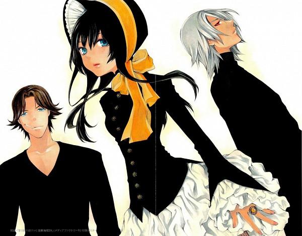 Tags: Anime, Hatenkou Yuugi, Baroqueheat, Alzeid, Rahzel Anadis, Poke Bonnet, Artist Request, Traditional Media, Copics