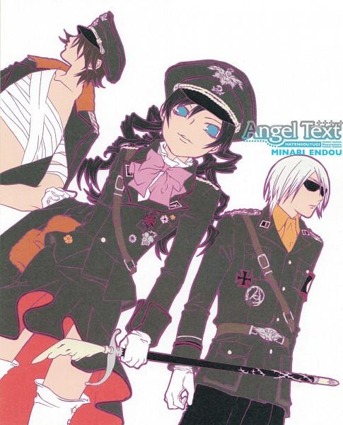 Tags: Anime, Minari Endoh, Hatenkou Yuugi, Rahzel Anadis, Baroqueheat, Alzeid, Army