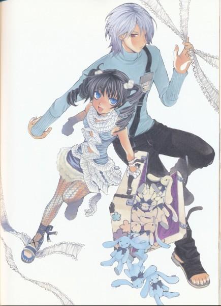 Tags: Anime, Hatenkou Yuugi, Alzeid, Rahzel Anadis, Suitcase