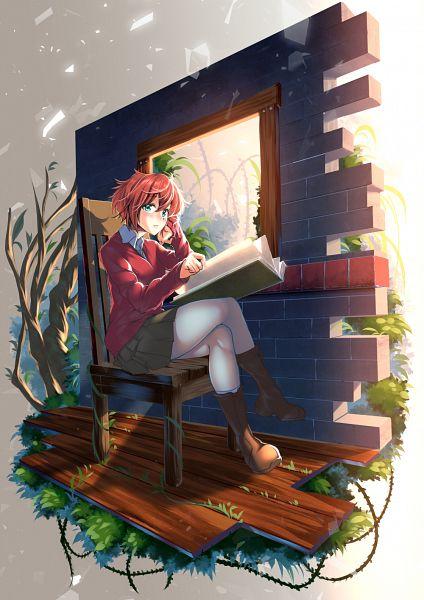 Tags: Anime, Pixiv Id 236529, Mahou Tsukai no Yome, Hatori Chise, Fanart, Fanart From Pixiv, Pixiv
