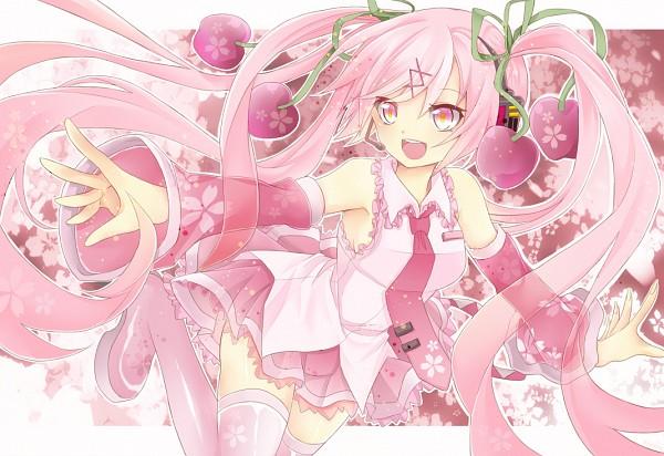 Tags: Anime, Uruhara Ryuuku, VOCALOID, Hatsune Miku, Charry, Sakura Design