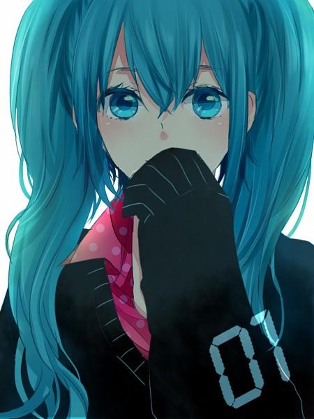 Tags: Anime, Asatani, VOCALOID, Hatsune Miku, Pixiv