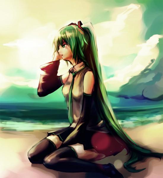 Tags: Anime, Renevatia, VOCALOID, Hatsune Miku