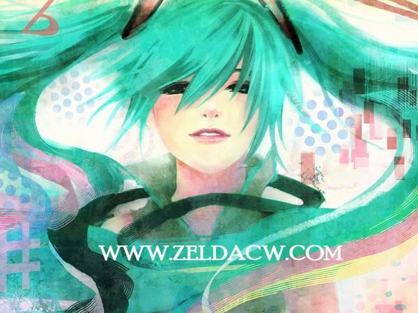 Tags: Anime, Zelda C. Wang, VOCALOID, Hatsune Miku, Pixiv