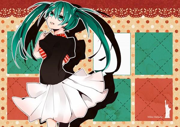 Tags: Anime, Pixiv Id 2239641, VOCALOID, Hatsune Miku, Pixiv, Fanart, Fanart From Pixiv