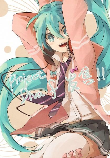 Tags: Anime, Lastiny, Project DIVA F, VOCALOID, Hatsune Miku, Project DIVA Ribbon Girl
