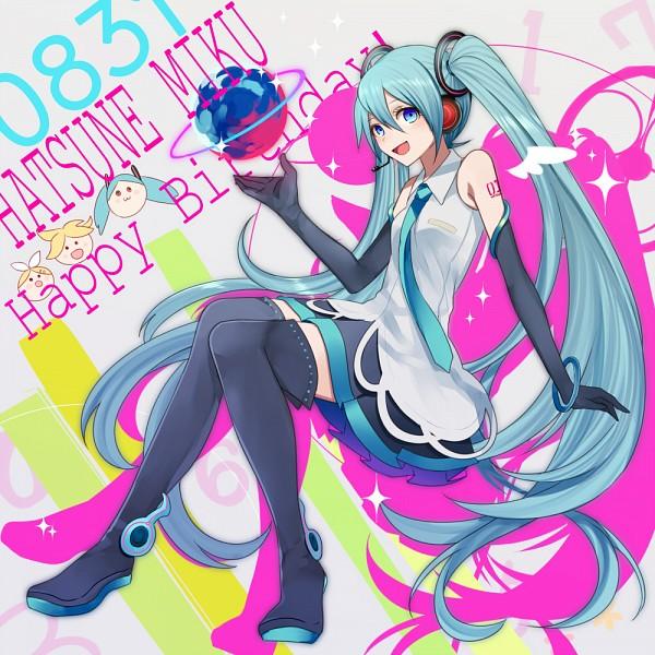 Tags: Anime, Harano, VOCALOID, Hatsune Miku