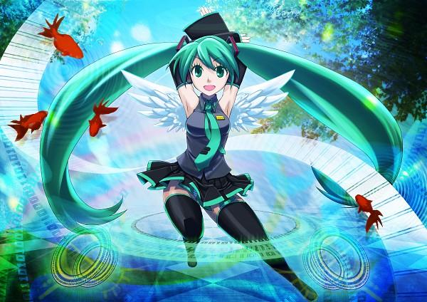 Tags: Anime, Pixiv Id 13689, Q Pixiv: Miku Append, VOCALOID, Hatsune Miku, Pixiv, Quarterly Pixiv, Append