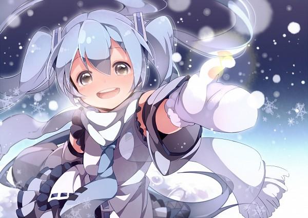Tags: Anime, Umiko (munemiu), VOCALOID, Hatsune Miku, Yuki Design, Revision, Pixiv