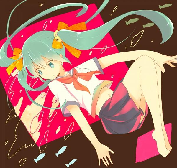 Tags: Anime, Pixiv Id 3830388, VOCALOID, Hatsune Miku, Fanart, Fanart From Pixiv, Pixiv