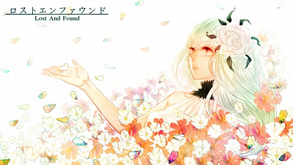 Tags: Anime, Pixiv Id 2005472, VOCALOID, Hatsune Miku, Daisy (Flower), Pixiv, Facebook Cover, Wallpaper, Lost and Found
