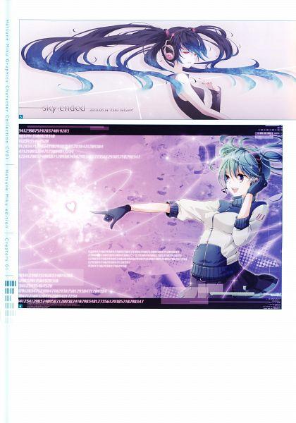 Tags: Anime, Mirusa, Hatsune Miku Graphics Character Collection Cv01 Hatsune Miku, VOCALOID, Hatsune Miku, Self Scanned, Scan, Mobile Wallpaper