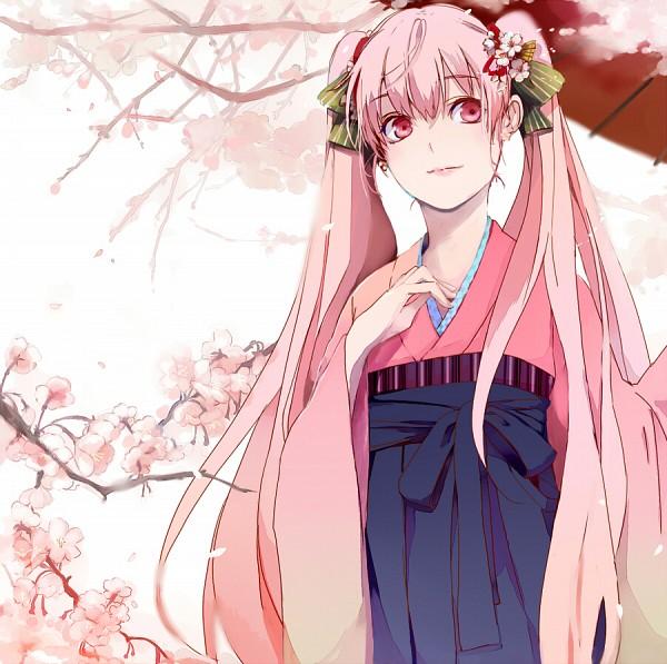 Tags: Anime, Pixiv Id 94282, VOCALOID, Hatsune Miku, Fanart From Pixiv, Pixiv, Sakura Design, Fanart