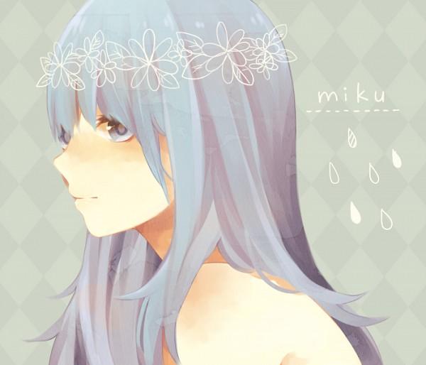 Tags: Anime, Pixiv Id 3757167, VOCALOID, Hatsune Miku, Raindrop (Symbol), Fanart, PNG Conversion, Pixiv, Fanart From Pixiv