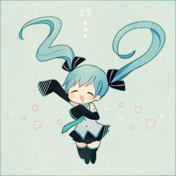 Tags: Anime, Ayu, VOCALOID, Hatsune Miku, Fanart From Pixiv, Fanart, Pixiv, Hatsune Miku Day