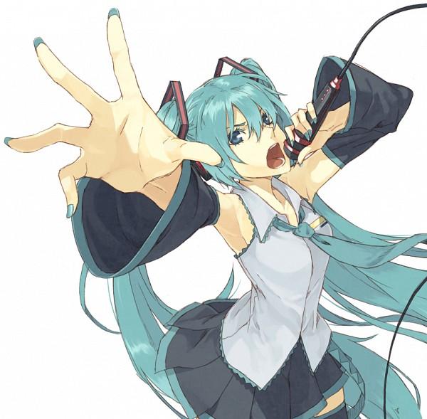 Tags: Anime, Takanuma Tama, VOCALOID, Hatsune Miku, Fanart, Fanart From Pixiv, Pixiv