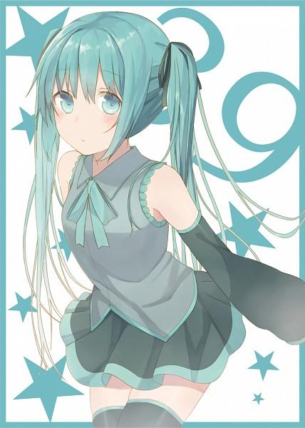 Tags: Anime, Minase Nagi, VOCALOID, Hatsune Miku, Mobile Wallpaper, Fanart, Fanart From Pixiv, Pixiv