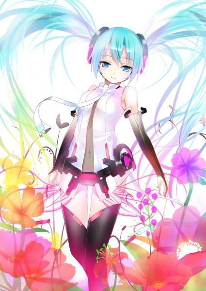 Tags: Anime, Koi (Koisan), VOCALOID, Hatsune Miku, Pixiv, Append