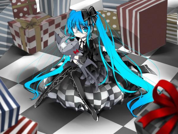 Tags: Anime, Saru Long, VOCALOID, Hatsune Miku