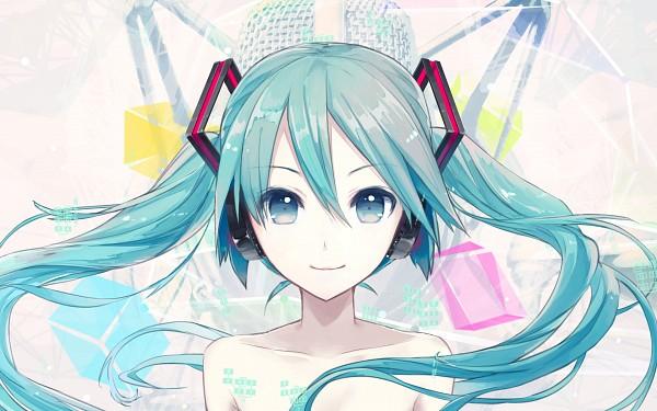 Tags: Anime, iXima, VOCALOID, Hatsune Miku, Pixiv, Wallpaper, V4, Official Art