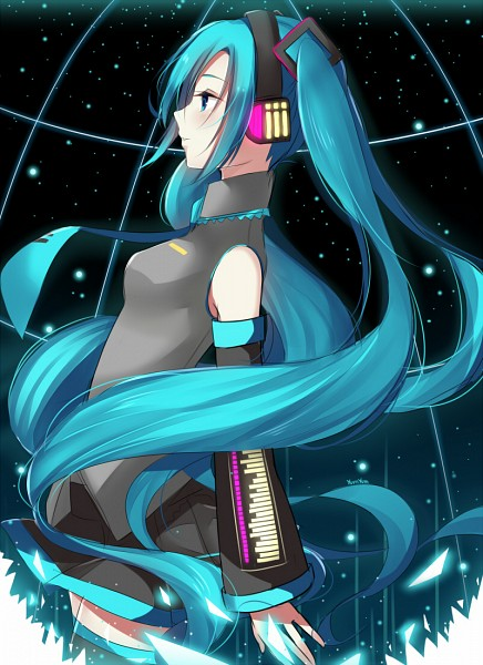 Tags: Anime, xYum-Yumx, VOCALOID, Hatsune Miku, Tie Clip, Pixiv, Fanart From DeviantART, Fanart From Pixiv, Fanart, Mobile Wallpaper, deviantART