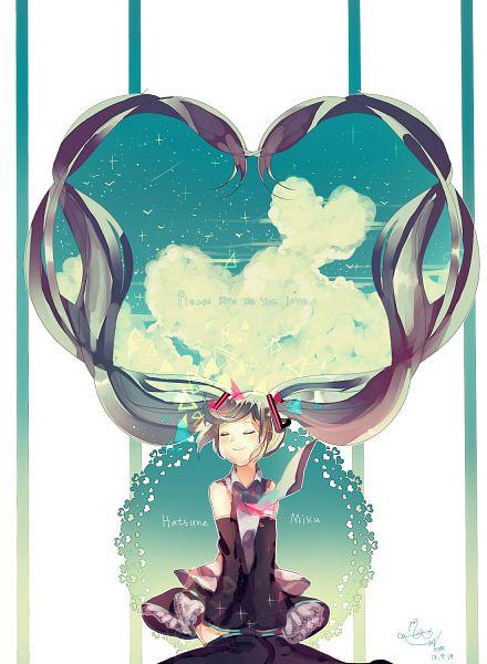 Tags: Anime, Pixiv Id 2603770, VOCALOID, Hatsune Miku, Aqua Neckwear, Writing Error, Lace Trim, Fanart From Pixiv, Mobile Wallpaper, PNG Conversion, Fanart, Pixiv