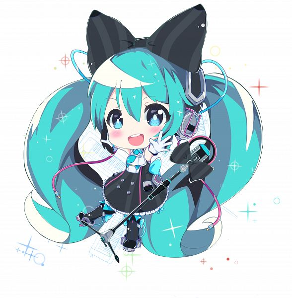 Tags: Anime, NAMU97, VOCALOID, Hatsune Miku, Keyboard (Instrument), Fanart From Pixiv, Fanart, Pixiv, Magical Mirai 2016, Magical Mirai