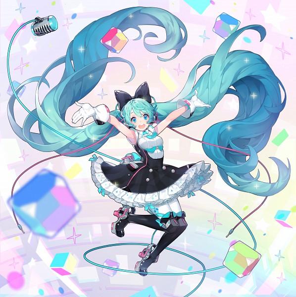 Tags: Anime, Pixiv Id 21087784, VOCALOID, Hatsune Miku, Cube, PNG Conversion, Fanart, Magical Mirai 2016, Pixiv, Magical Mirai, Fanart From Pixiv