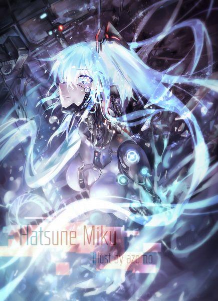 Tags: Anime, Azomo, VOCALOID, Hatsune Miku, Pixiv, Mobile Wallpaper, Fanart, Fanart From Pixiv