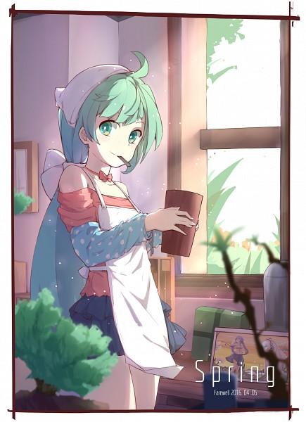Tags: Anime, ZYre, VOCALOID, Hatsune Miku, Mobile Wallpaper, Fanart, Fanart From Pixiv, Pixiv