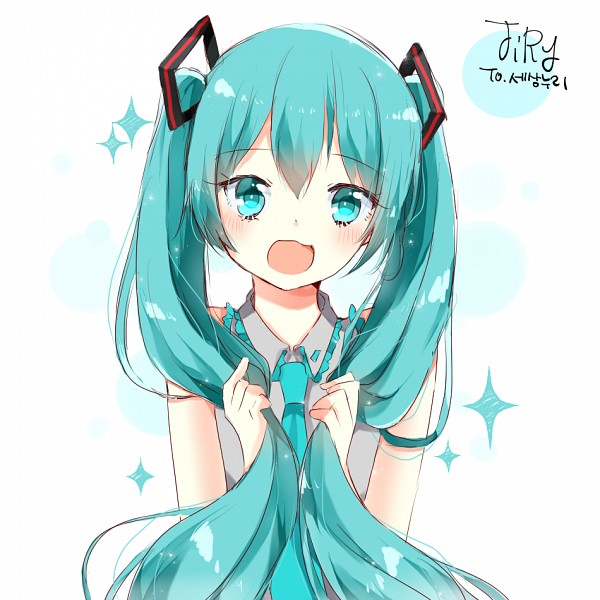 Tags: Anime, Pixiv Id 6977928, VOCALOID, Hatsune Miku, Hair In Hand, Pixiv, Fanart From Pixiv, Fanart, PNG Conversion