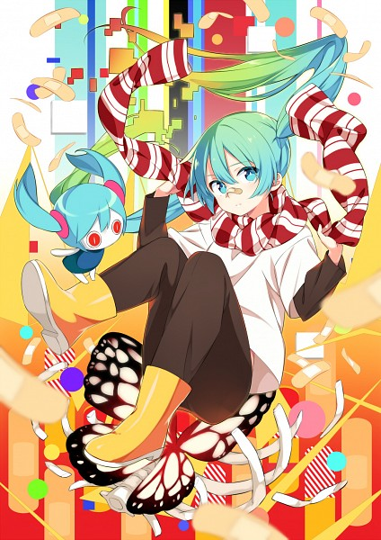 Tags: Anime, Kiyamachi, VOCALOID, Hatsune Miku, Fanart From Pixiv, Fanart, Pixiv, Mobile Wallpaper, Arifureta Sekai Seifuku