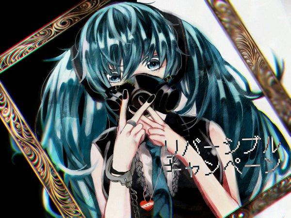 Tags: Anime, Pixiv Id 35187, VOCALOID, Hatsune Miku, DECO*27, Fanart From Pixiv, Fanart, Pixiv, Reversible Campaign, Wallpaper