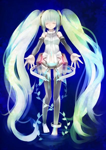 Tags: Anime, Ringpearl, Q Pixiv: Miku Append, VOCALOID, Hatsune Miku, Append, Pixiv, Quarterly Pixiv