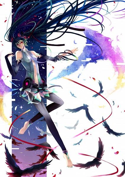 Tags: Anime, Nako (Nonrain), Q Pixiv: Miku Append, VOCALOID, Hatsune Miku, Quarterly Pixiv, Append, Pixiv