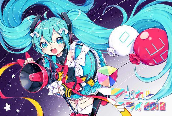 Tags: Anime, Pixiv Id 3500194, VOCALOID, Hatsune Miku, Majikaru Mirai, Pixiv, Magical Mirai 2018, Magical Mirai