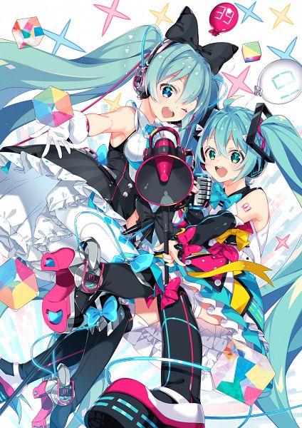 Tags: Anime, Pixiv Id 10622754, VOCALOID, Hatsune Miku, Magical Mirai, Fanart, Fanart From Pixiv, Magical Mirai 2016, Pixiv, Magical Mirai 2018