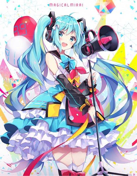 Tags: Anime, Pixiv Id 14168739, VOCALOID, Hatsune Miku, Magical Mirai, Fanart, Fanart From Pixiv, Pixiv, Magical Mirai 2018
