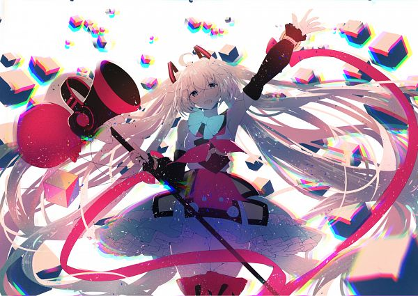 Tags: Anime, Re:Rin, VOCALOID, Hatsune Miku, Fanart, Fanart From Pixiv, Pixiv, Magical Mirai 2018, Magical Mirai