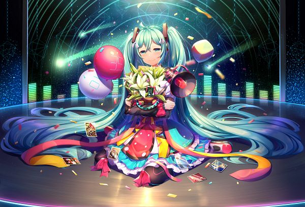 Tags: Anime, Pixiv Id 5271609, VOCALOID, Hatsune Miku, Pocket Watch, Magical Mirai 2018, Pixiv, Magical Mirai, Fanart From Pixiv, Fanart