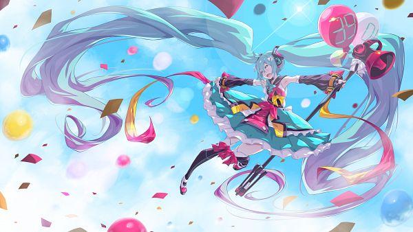 Tags: Anime, Pixiv Id 24245951, VOCALOID, Hatsune Miku, Magical Mirai 2018, Magical Mirai, Fanart, Fanart From Pixiv, Pixiv
