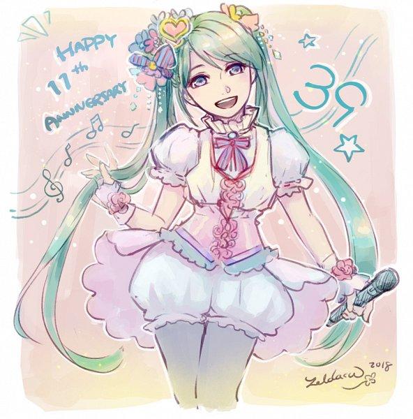 Tags: Anime, Zelda C. Wang, VOCALOID, Hatsune Miku