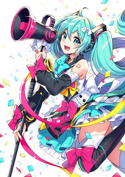 Tags: Anime, Nardack, VOCALOID, Hatsune Miku, Magical Mirai 2018, Magical Mirai, Fanart From Pixiv, Fanart, Pixiv