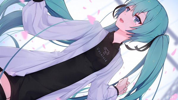 Tags: Anime, ZYre, VOCALOID, Hatsune Miku, Pixiv, Fanart, Fanart From Pixiv