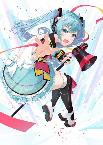 Tags: Anime, Pixiv Id 9596891, VOCALOID, Hatsune Miku, Magical Mirai, Magical Mirai 2018